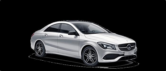 2018 Mercedes-Benz CLA 250 white background