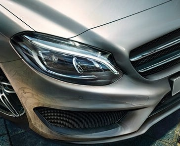 2018 Mercedes-Benz B-Class exterior up close