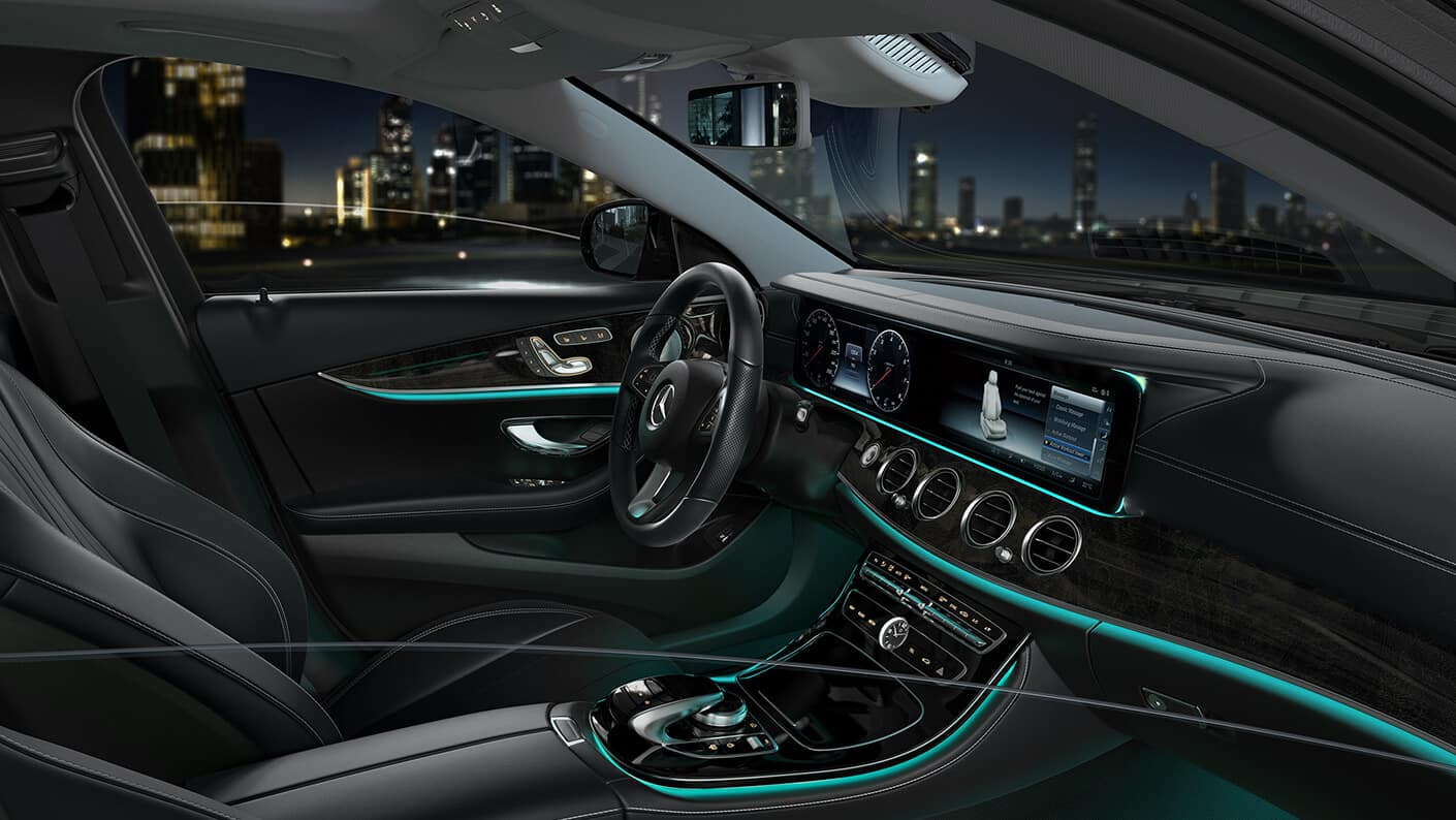 2018 Mercedes-Benz E 300 Front Interior Features