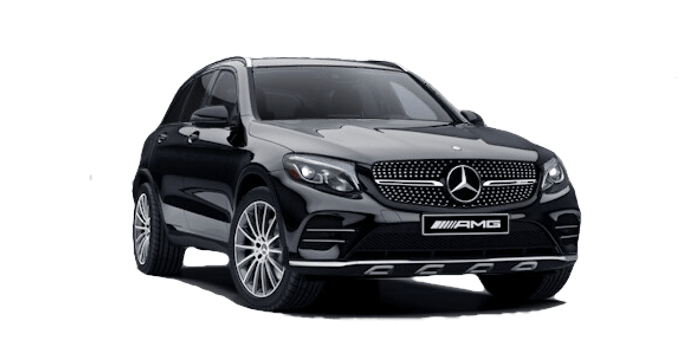 2018 Mercedes-Benz GLC 43 white background
