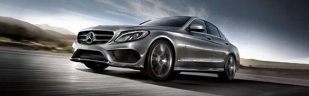 2018 Mercedes-Benz C-Class Driving