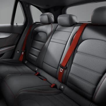 2018 Mercedes-Benz GLC AMG 43 4MATIC Interior Rear Seating