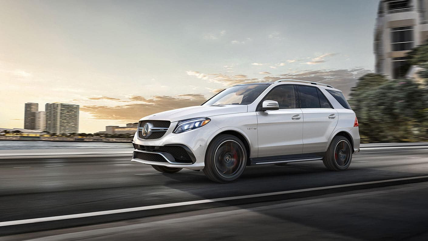 2018 Mercedes-Benz GLE AMG 63 S 4MATIC driving