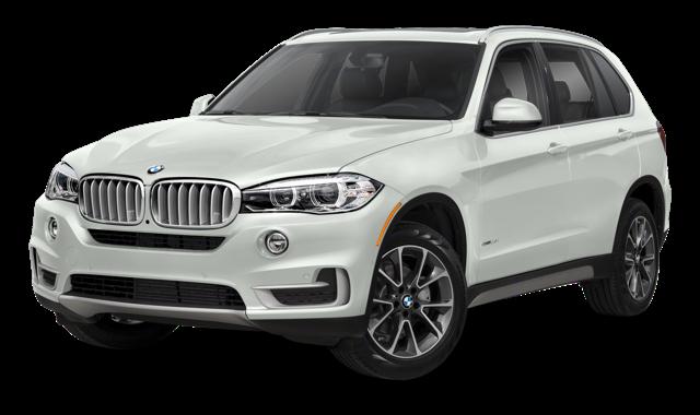 2018 BMW X5 white background