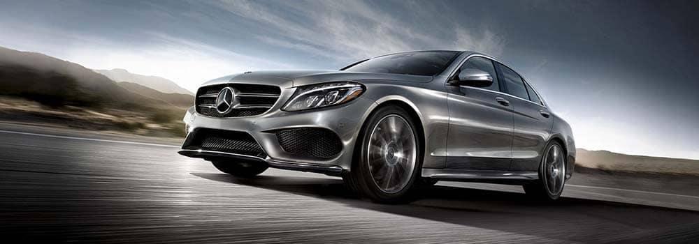 Mercedes-Benz C-Class Driving