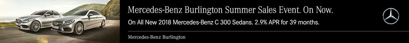 Mercedes-Benz Summer Sales Event Banner