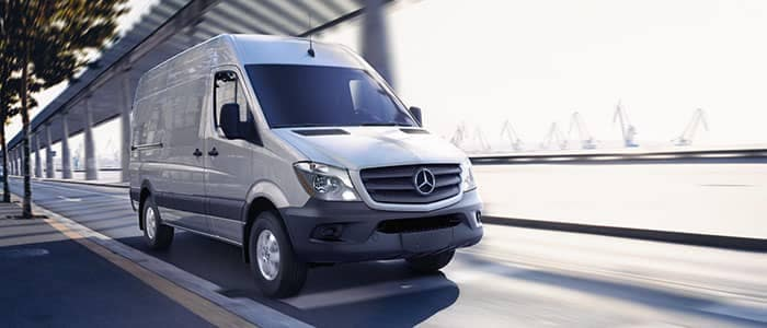 2018 Mercedes-Benz Sprinter Van Driving