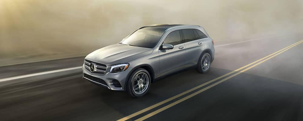 2018 Mercedes-Benz GLC CA Driving in Fog