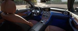2020-C-Class interior
