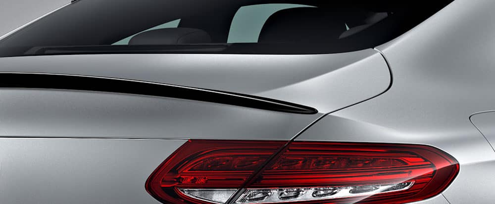 mercedes-benz vehicle accessory spoiler