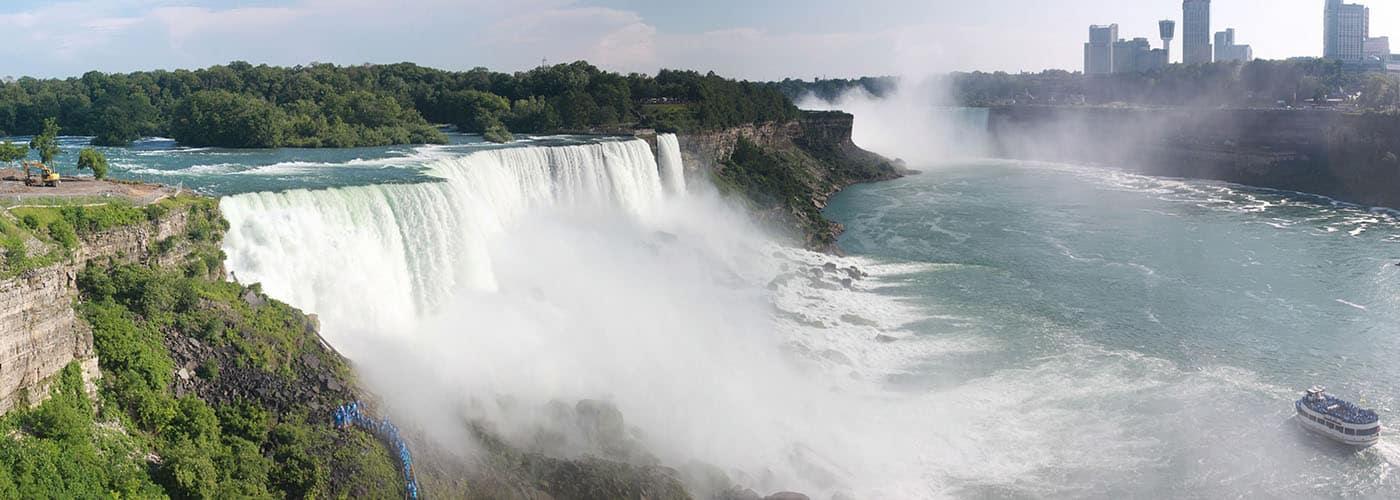 waterfall canada