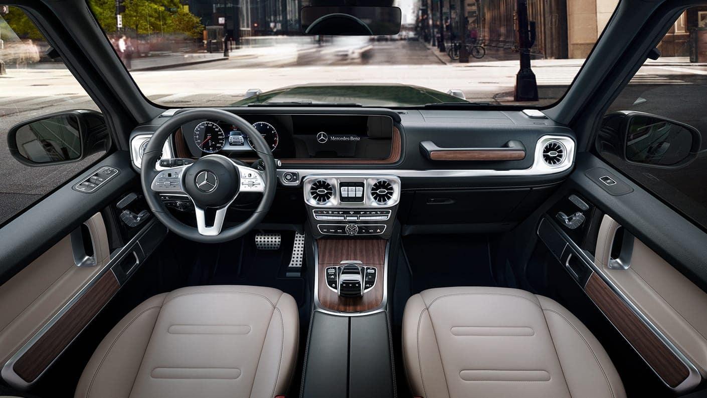 2019 G550 interior