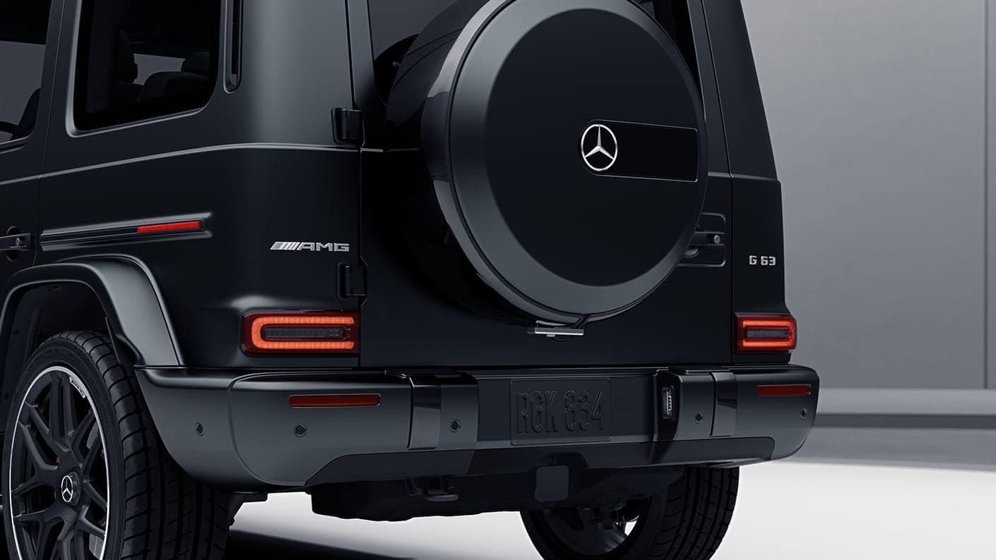 2019 G 63 rear