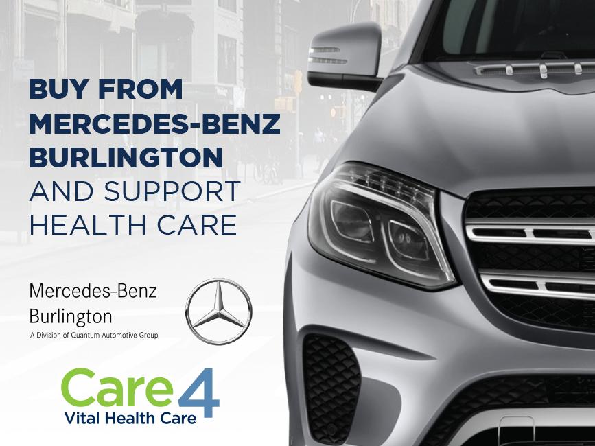 Hamilton Health Sciences Foundation - Care4 Partner of Mercedes-benz Burlington