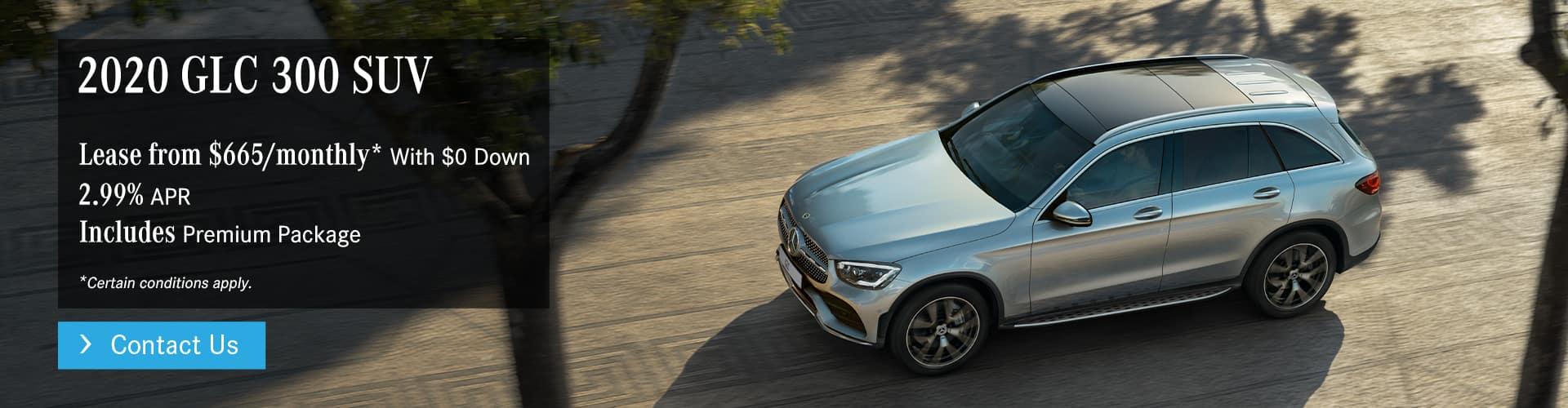 2020 GLC 300 SUV Offer at Mercedes-Benz Burlington