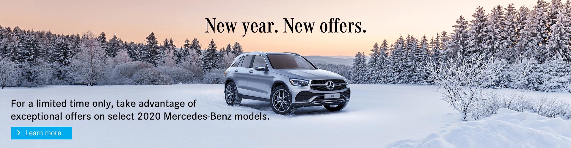 Winter Offers at Mercedes-Benz Burlington