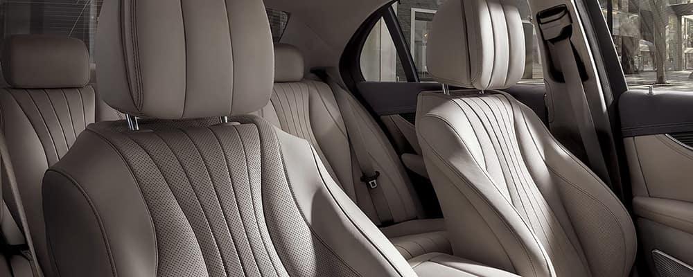 2020 e-class interior