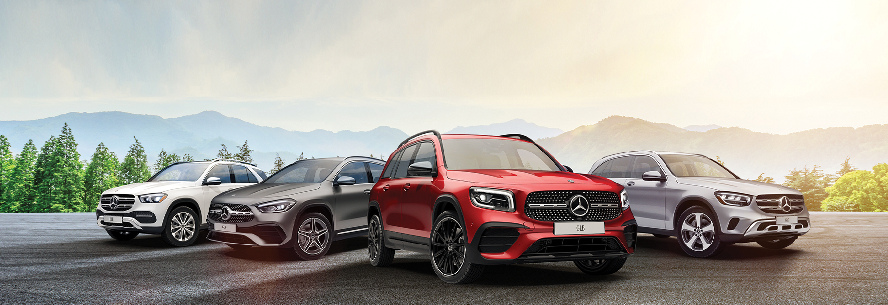 The Mercedes-Benz Family SUV Event
