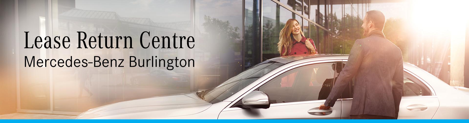 Lease Return Centre at Mercedes-Benz Burlington header