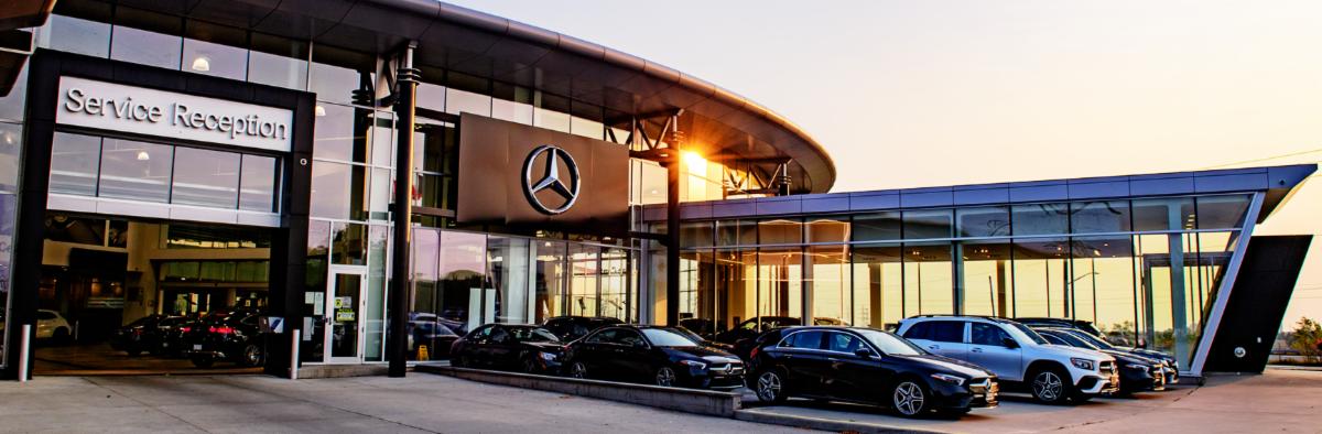 Mercedes-Benz Burlington Service entrance