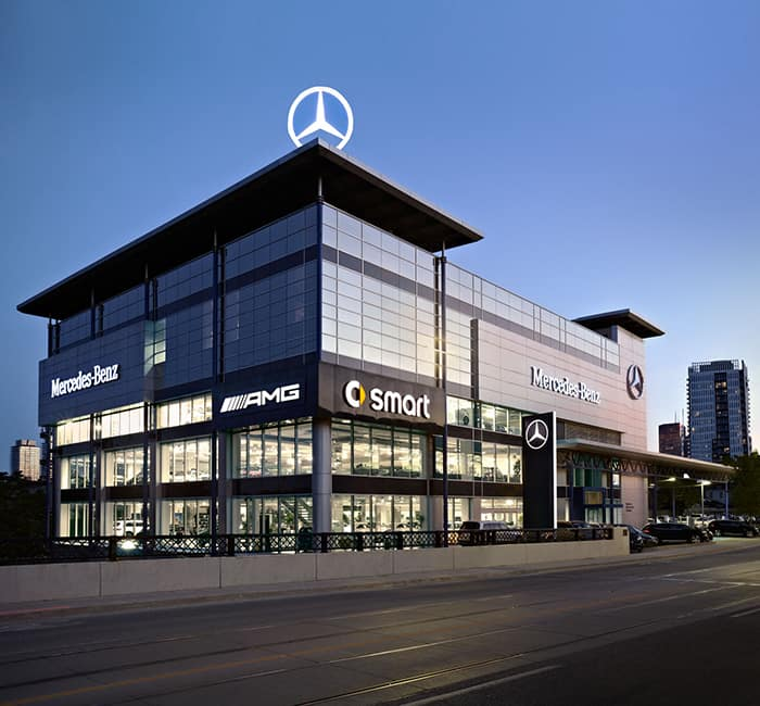 mercedes benz downtown toronto mercedes benz dealership