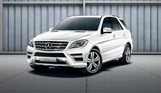 Featured Vehicles: <br> Certified M-Class