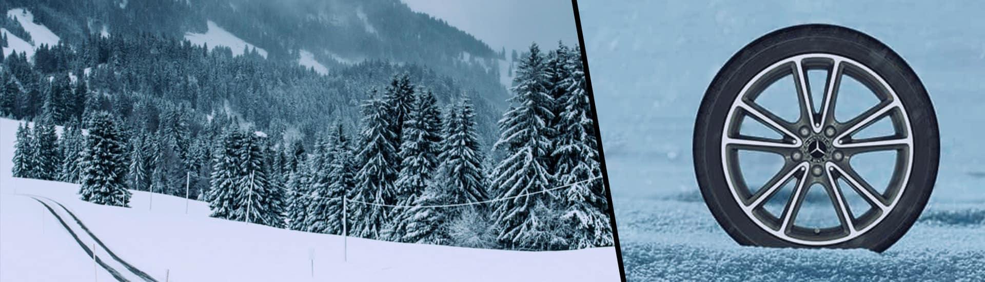Winter tires banner