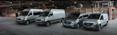 Lease a Mercedes-Benz Van