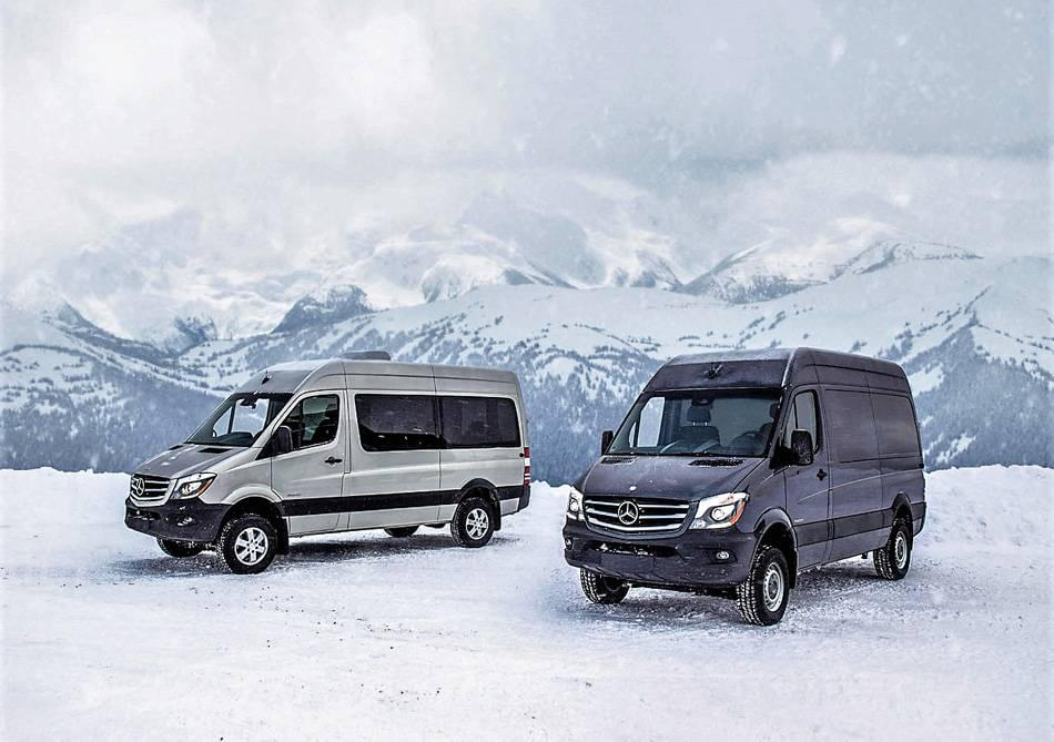 Mercedes benz sprinter is the only commercial van to offer for Mercedes benz sprinter service