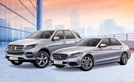 Certified Pre-Owned<br>Mercedes-Benz Models