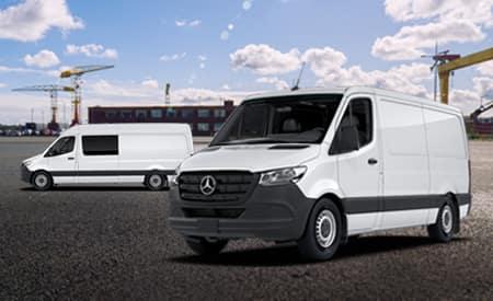 Sale on select 2019 Sprinter vans