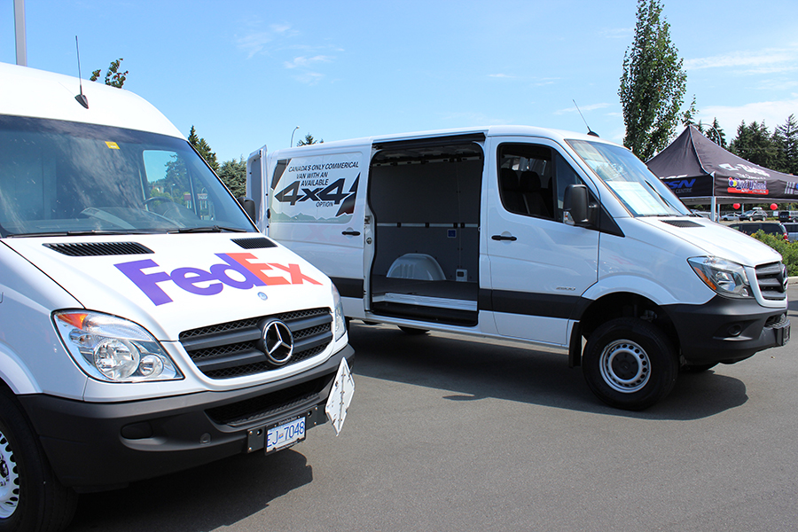 Mercedes benz vans client appreciation lunch mercedes for Mercedes benz nanaimo