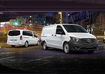 Mercedes-Benz Metris Cargo and Passenger Van
