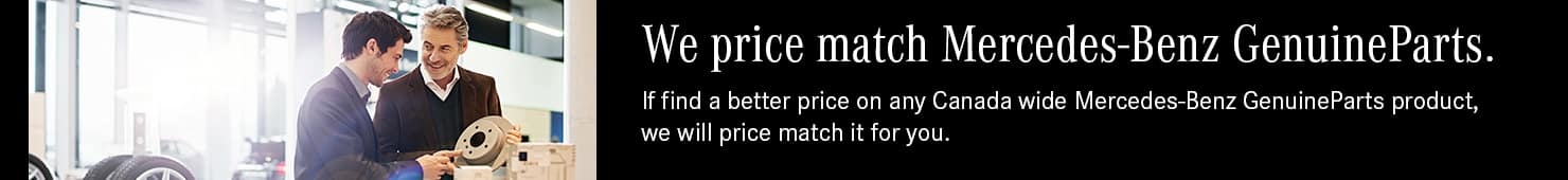 Price Match parts