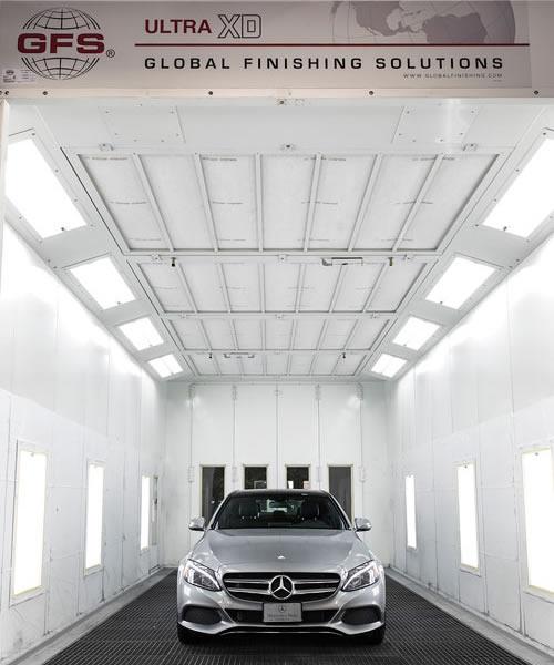 Collision centre body repair mercedes benz north vancouver for Mercedes benz north vancouver
