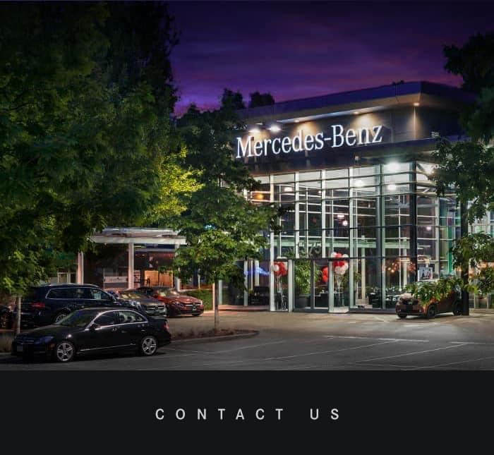 Contact Us Mercedes-Benz North-Vancouver
