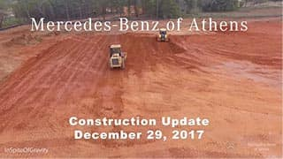 December Construction update