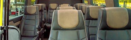 Mercedes-Benz Sprinter Shuttle Interior