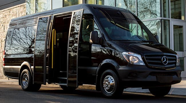 Mercedes-Benz Sprinter Shuttle Exterior