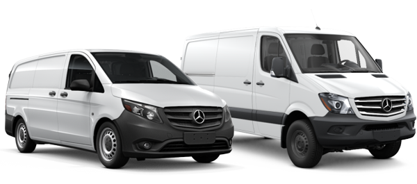2018 Mercedes-Benz Metris and Sprinter Vans