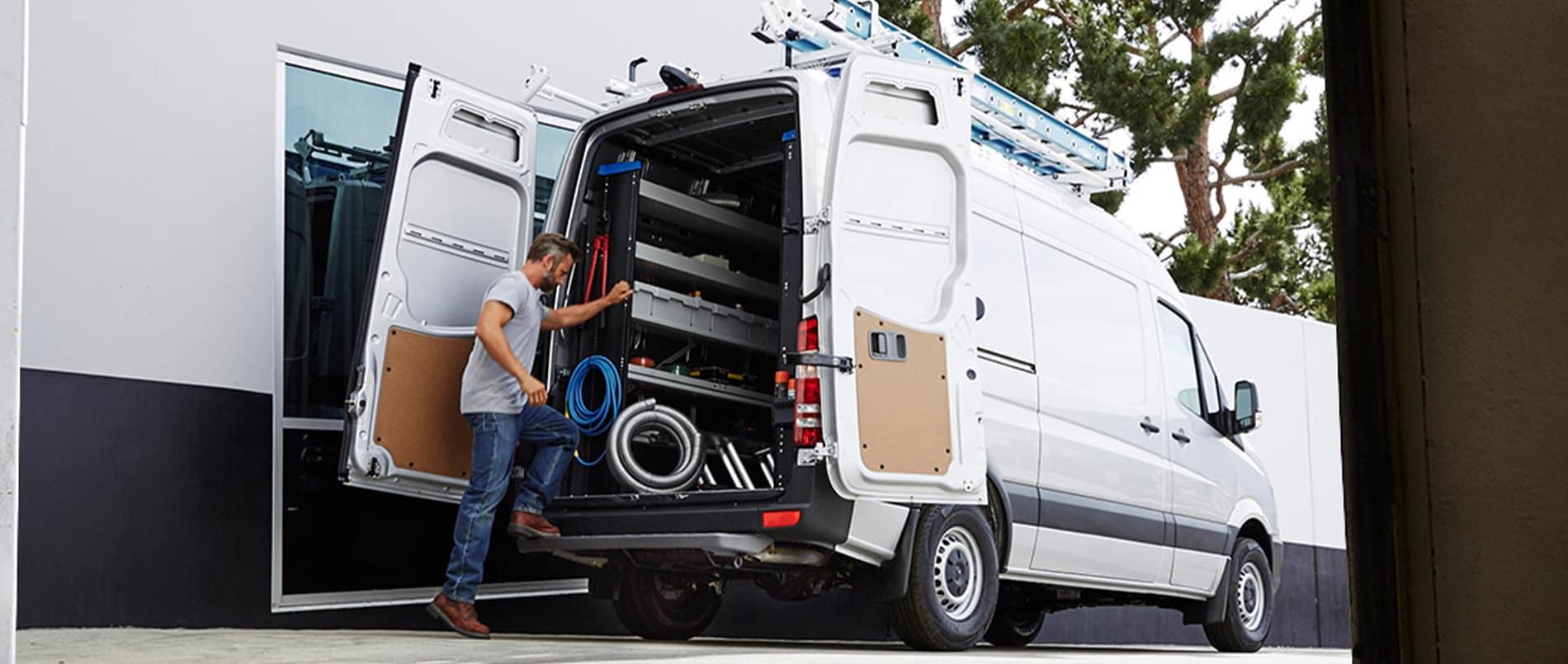 Gas Sprinter Van