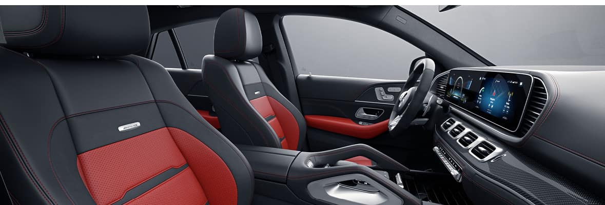2021 Mercedes-Benz AMG GLE 53 Coupe - Interior Front Seats
