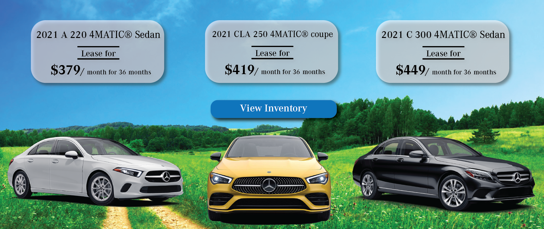 Mercedes-Benz April Lease Offers