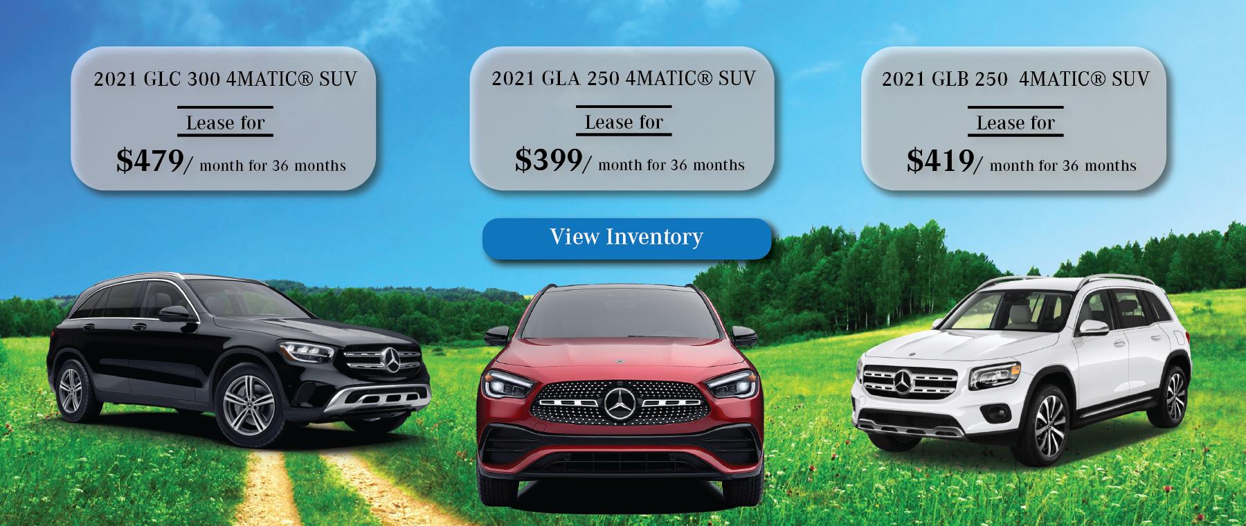 Mercedes-Benz April Lease Specials