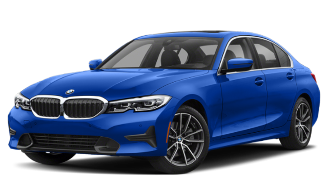 2019 bmw 3 series blue exterior