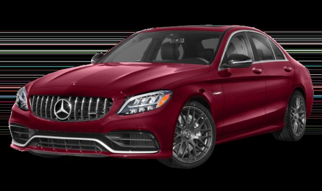 2019 mercedes-benz c-class red exterior