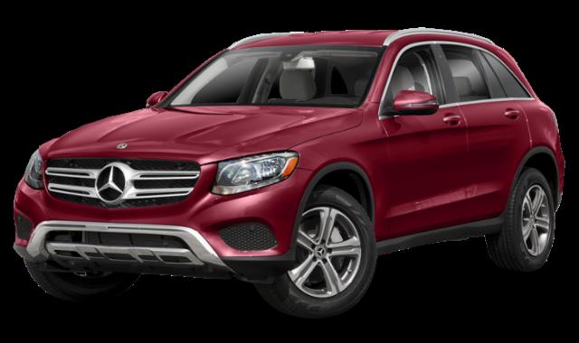 2019 mercedes-benz glc red exterior