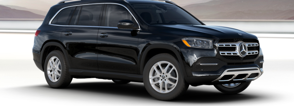 Black 2020 Mercedes-Benz GLS