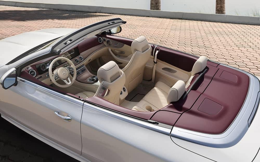 2020 MB E-Class Cabriolet Interior