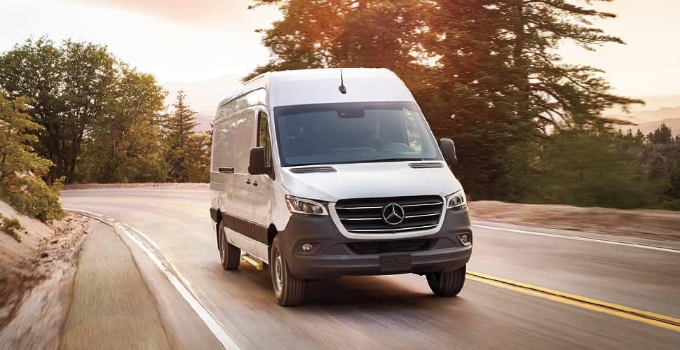 2019 MB Sprinter Van Driving